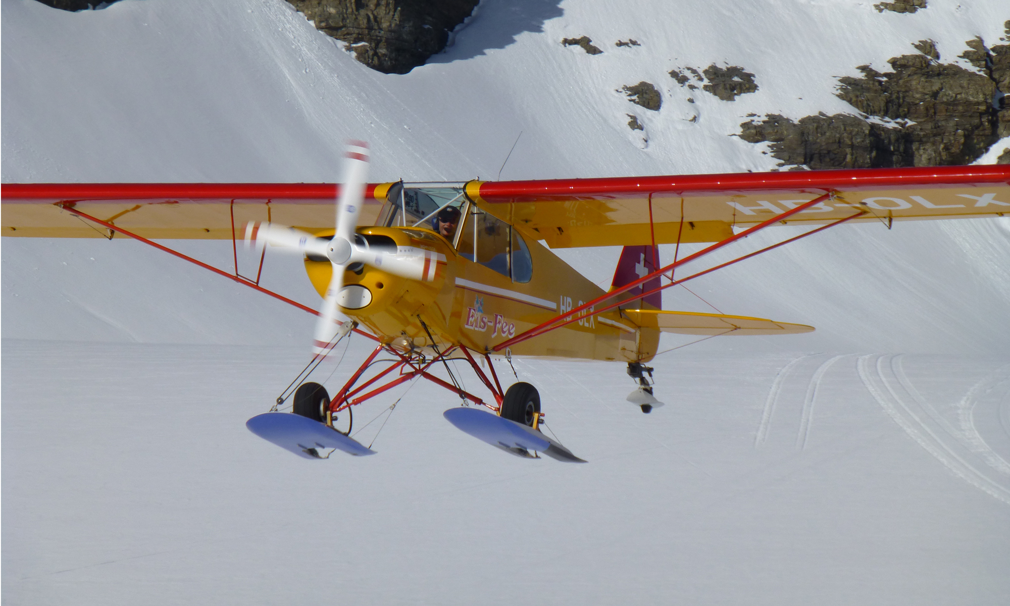 Gletscherflugch Official Resource Of The Swiss Glacier Pilots